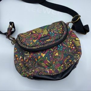 Sakroots Crossbody colorful paisley & florals